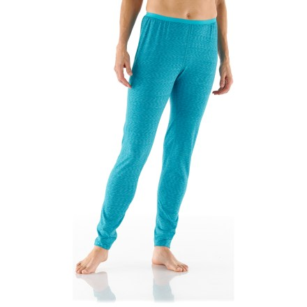 Featuring a splash of eye-catching color, the REI Midweight Space Dye tights can be worn alone or used as a performance base layer. - $13.83