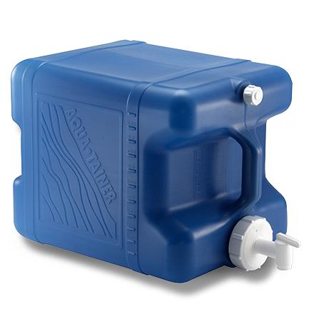 Camp and Hike Carry and dispense water conveniently in this handy Reliance Aqua-Tainer 7 gal. storage container. - $17.95