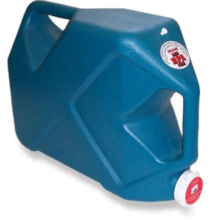 Camp and Hike Keep 7 gal. of potable water on hand with the large-volume Reliance Jumbo-Trainer water container. - $18.95