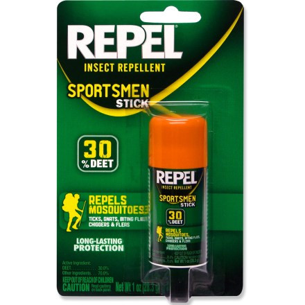 Camp and Hike Repel Sportsmen Stick insect repellent is easy to apply to your face, arms, neck and legs to make your outdoor adventures more enjoyable. - $4.25
