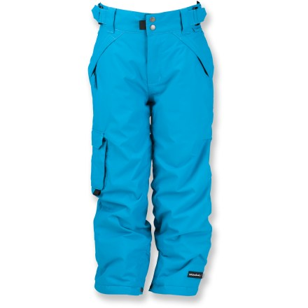 Ski The Ride Dart insulated pants will have her zooming from the bunny hill to the big hill in no time. - $40.73