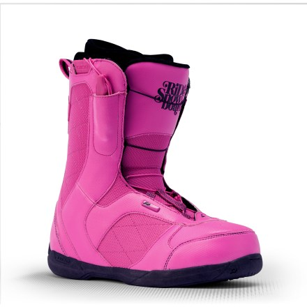Snowboard Flexible and forgiving, Ride Mode snowboard boots offer women riders the essentials-comfort, support, chic details and a great price! - $82.83
