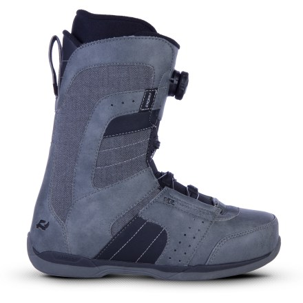 Snowboard Ride Anthem Boa snowboard boots outfit advanced riders with a flexible and forgiving ride perfect for all-day park sessions. Supportive and comfortable, they're also perfect for lapping steep chutes. - $98.83
