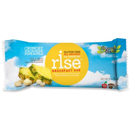 Camp and Hike Get your morning started right with a Rise Breakfast bar. - $1.50