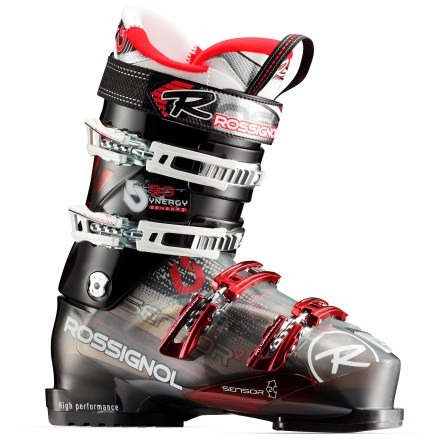 Ski Rossignol Synergy Sensor2 90 ski boots hone your expanding skills with a responsive fit and comfort that lasts all day long. - $139.83