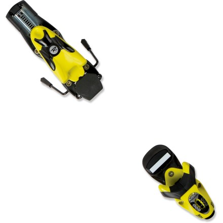 Ski Rossignol Comp J 45 L downhill ski bindings are built for progressing skiers who can benefit from a top-performance binding. - $57.93