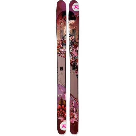 Ski The designers of the Rossignol S7 women's skis get it--it's all about the powder! - $279.83