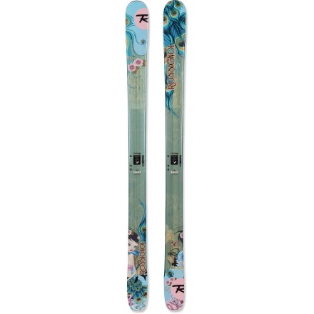 Ski The Rossignol Sassy 7 women's skis float through powder, plow through crud and cruise the groomed runs. Won't you take them out for a spin? - $199.93