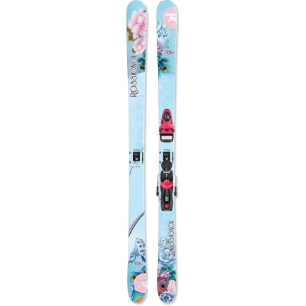 Ski Playful, sassy and tough, the Rossignol Trixie Jib skis are designed for young freestylers. - $119.83