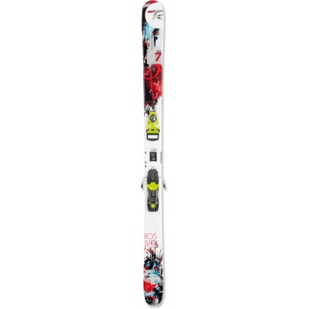 Ski Intended for powder-hungry, junior freeriders, the Rossignol S7 Pro skis offer the same performance as their adult-size counterparts. - $119.83