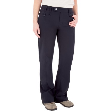 Camp and Hike The Royal Robbins short-length Discovery Pants come in a lightweight fabric that's wrinkle resistant, has great stretch and is an exceptional choice for travel. - $25.83