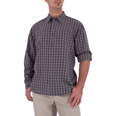 Entertainment The Royal Robbins Piru Plaid shirt easily transitions from the office to the road. - $28.73
