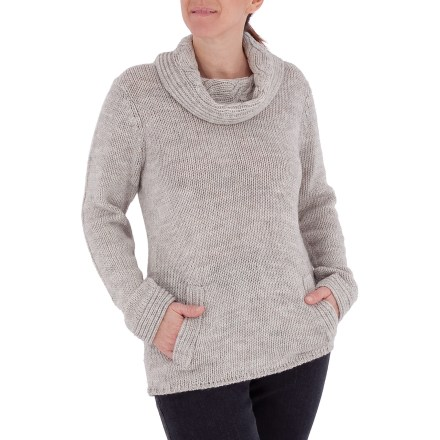 Entertainment The Royal Robbins Northern Lights turtleneck offers extra warmth on cold days. Acrylic/wool blend fabric is warm and soft. Machine wash, lay flat to dry. Closeout. - $30.73