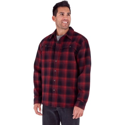 Entertainment Enjoy outings in the crisp fall weather with the Royal Robbins Timberlodge Flannel shirt. Cotton/polyester flannel fabric has a pronounced herringbone pattern and a soft brushed face; fabric blend is warm, durable and wrinkle resistant. 2 chest pockets with button closures hold your essentials. Royal Robbins Timberlodge Flannel shirt includes a locker loop on the back. - $54.93