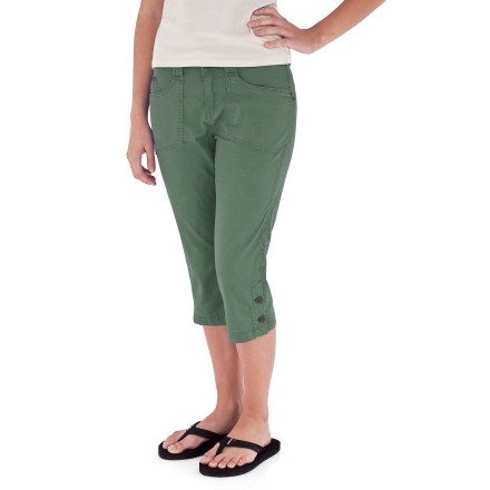 Entertainment Your new go-to pants for work, play and everything in between, the lightweight, durable Royal Robbins Kick It Capri pants can hang tough while you push the pace. - $15.83