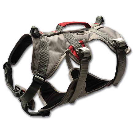 Climbing The Ruffwear DoubleBack dog harness lets your pooch go climbing, mountaineering, canyoneering and scrambling with strength-rated components, comfort and convenience. - $92.93