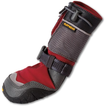 Ski The Ruff Wear Bark 'N Boot Polar Trex winter dog boots add warmth, provide traction and protect your dog's paws from ice, rocks and rough terrain - $71.93
