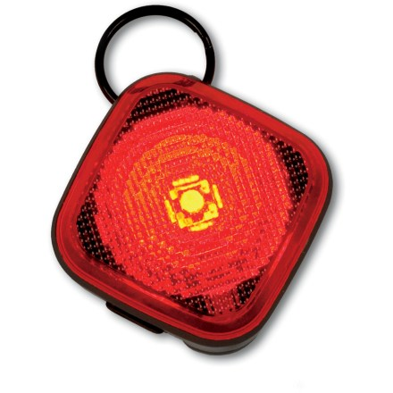 Camp and Hike Ruffwear The Beacon pet light adds high-visibility red light around your dog for increased safety in low light and after dark. - $18.00