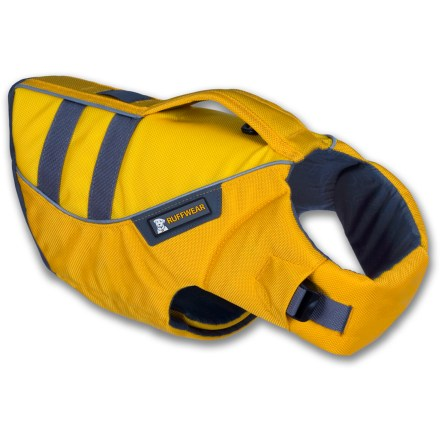 Kayak and Canoe The full-featured Ruffwear K-9 Float Coat adds comfortable buoyancy to water-loving dogs when they join their humans in canoeing, kayaking, rafting, paddleboarding or swimming. - $80.00