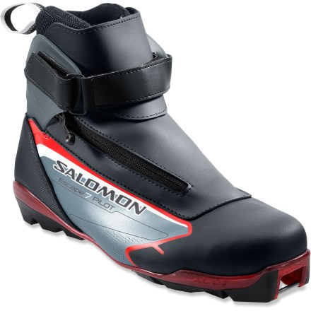 Ski The Salomon Escape 7 Pilot CF cross-country ski boots deliver excellent performance and a personalized fit, taking your touring to the next level. - $80.83