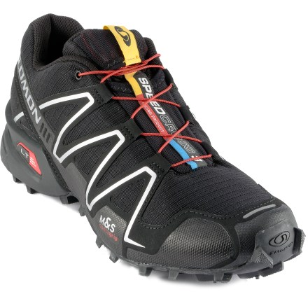 Fitness Ideal for off-road adventure racing, the Salomon Speedcross 3 trail-running shoes offer cushioning and traction on muddy single track, dusty roads and snow fields. - $64.83