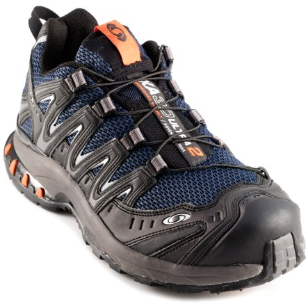 Fitness The Salomon XA Pro 3D Ultra 2 Trail-Running shoes provide a proven combination of light weight and stability for outdoor athletes looking for high performance over a variety of surfaces. - $63.83