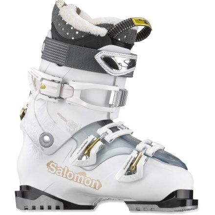 Ski The women's Salomon Quest Access X60 ski boots give you the option of hiking to find new terrain as you expand your repertoire of skills. - $131.83
