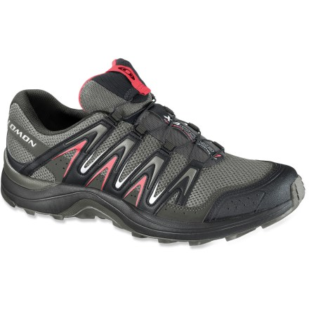 Fitness Ideal for fastpacking and trail running, the Salomon XA Comp 7 women's trail-running shoes let you tackle a broad range of terrain. - $76.83
