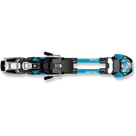 Ski The Salomon Guardian WTR 16S randonee bindings provide the power, precision and on-snow feel of a high-performance freeride alpine binding with the benefit of being able to tour in the backcountry. - $179.93