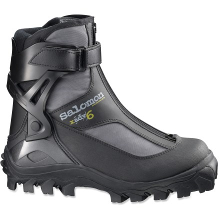 Ski Get off the beaten path and enjoy the quiet solitude of an untracked snowy slope with the Salomon X-ADV 6 cross-country ski boots. - $49.93