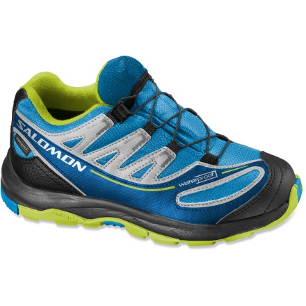 Camp and Hike These Salomon XA Pro 2 waterproof hiking shoes offer plenty of adventure-ready performance in a kid-size package. - $47.93