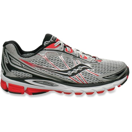 Fitness Updated to be lighter and more responsive, the Saucony ProGrid Ride 5 road-running shoes serve up plenty of cushioning in a lithe, agile platform for neutral runners looking for a great ride. - $54.83