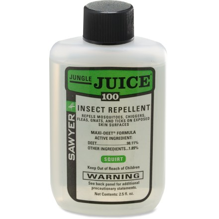 Camp and Hike Field-tested Sawyer Jungle Juice offers proven effectiveness against pesky bugs for up to 10 hours. - $8.00