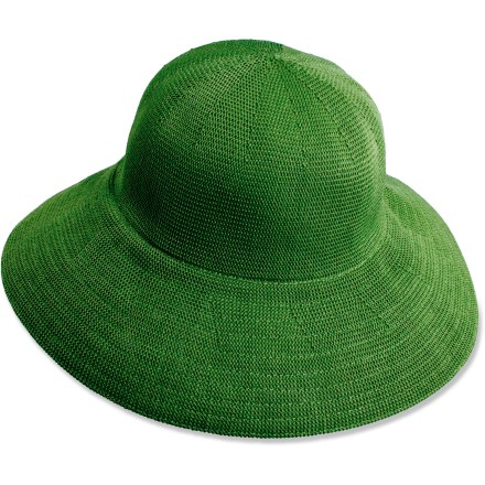 The Scala Downturn hat brings casual style to summer outings. Acrylic wicks moisture away and dries quickly. Large 3.5 in. brim keeps the sun out of your eyes. Closeout. - $9.83