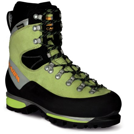 Climbing With superb all-around mountain performance, the Scarpa Mont Blanc GTX women's mountaineering boots are lightweight and responsive for great feel yet sturdy and tough enough for harsh environs. - $233.83