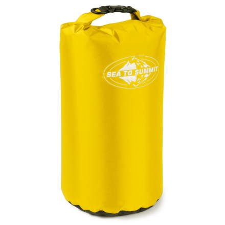 Kayak and Canoe The large, waterproof Sea to Summit Lightweight Dry Sack keeps your gear dry and functioning, whether on land or at sea. - $18.95