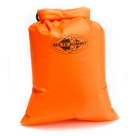 Kayak and Canoe The small, waterproof Sea to Summit Dry Sack will keep your gear dry and functioning, whether on land or at sea. - $14.95