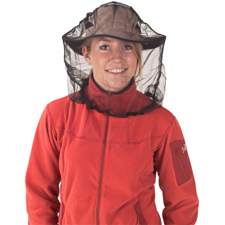 Camp and Hike This Sea To Summit head net will keep the bugs at bay without inhibiting your visibility. - $9.95