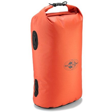 Kayak and Canoe Whether you're a backpacker, adventure racer, jungle trekker, boater or pack-rafter, you need to keep your gear dry and functioning. The Sea to Summit Big River dry bag was created with you in mind. - $49.95