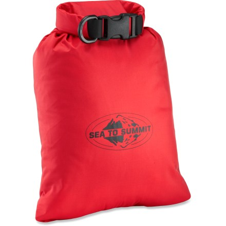 Kayak and Canoe Offering a streamlined alternative to heavier, traditional dry bags, the Sea to Summit Lightweight Dry Sack provides a waterproof shelter for your essential gear. - $13.95