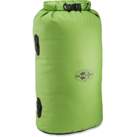 Kayak and Canoe The protective Sea to Summit Big River dry bag was created with land and water adventurers in mind. - $56.95