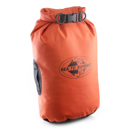 Kayak and Canoe Whether backpacking, trekking, boating or pack-rafting, you need to keep your gear dry and functioning. The Sea to Summit Big River 5-liter dry bag was created with you in mind. - $23.95
