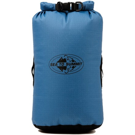 Kayak and Canoe Whether you like backpacking, adventure racing, trekking, boating or pack-rafting, you need to keep your gear dry and functioning. The Sea to Summit Big River dry bag was created with you in mind. - $21.95