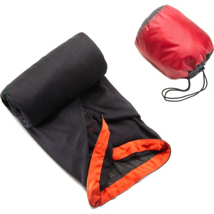 Camp and Hike Combining 2 different weight fabrics, this Sea to Summit Reactor Plus Themolite(R) mummy bag liner adds a few degrees of warmth and extends the life of your sleeping bag. - $62.95