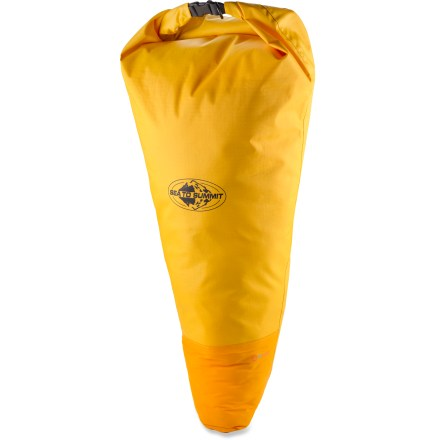 Kayak and Canoe The Sea to Summit Big River Tapered dry bag is specifically tapered to fit in the bow of touring kayaks. It helps keep gear dry and functional throughout your trip. - $56.95