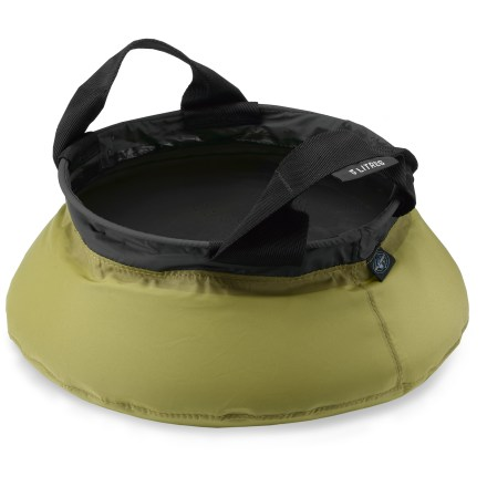 Camp and Hike The Sea to Summit 5-liter Kitchen sink makes washing in the backcountry quick, convenient and environmentally friendly. - $19.95