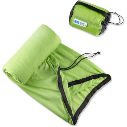 Camp and Hike This Sea to Summit Insect Shield CoolMax(R) Adapter bag liner is specifically designed for use in warm, humid and buggy conditions providing odorless insect protection and moisture management. - $57.95