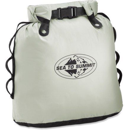 Camp and Hike Store the waste generated from your next outing in this handy Trash Dry Sack from Sea to Summit. - $29.95