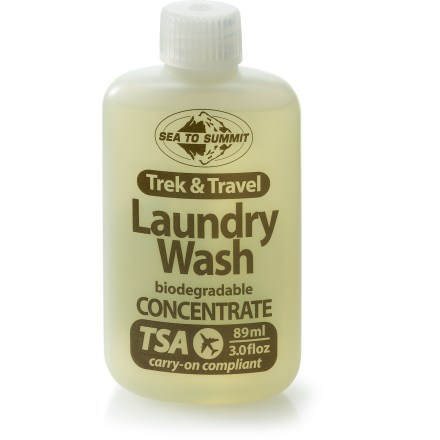 Camp and Hike Keep your clothes clean while traveling the world with the Sea To Summit Trek and Travel laundry wash. - $4.50