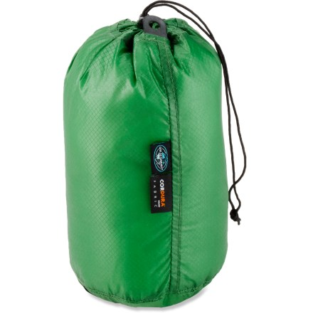 Camp and Hike Still haven't found a backpacking stuff sack that is ultra-lightweight and water resistant? Look no further than the Sea to Summit Ultra-Sil stuff sack. - $11.95